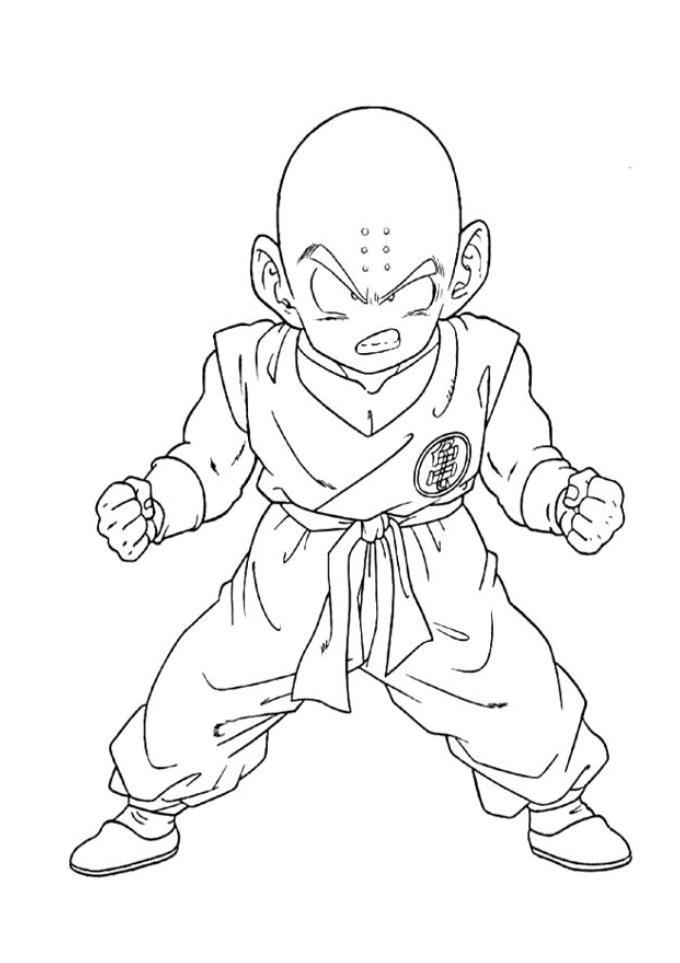 40 Desenhos Do Dragon Ball Z Para Colorir E Imprimir Online