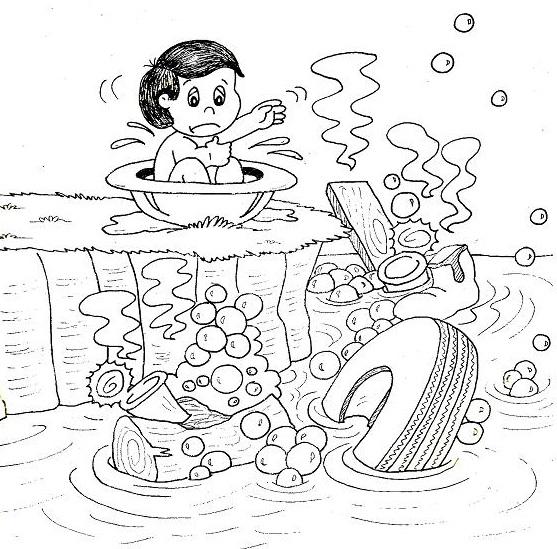 22 Desenhos Sobre O Lixo Para Colorir E Imprimir Online Cursos