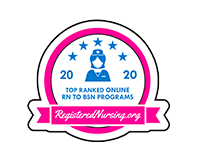 2019 Top Ranked Nursing Schools Badge