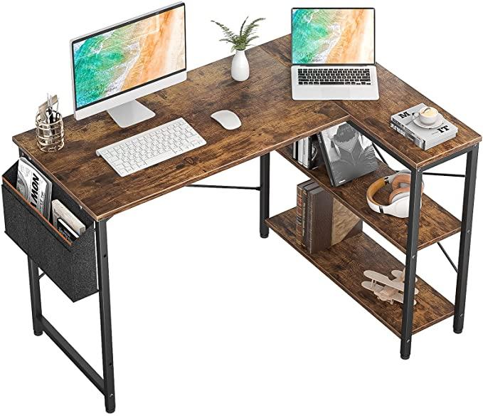 L Shaped Corner Gaming Desk