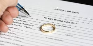 Person signing petition for divorce