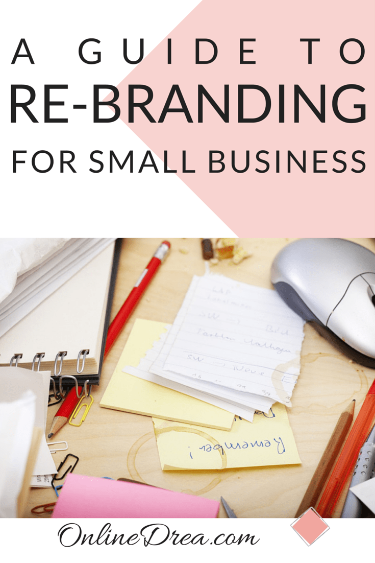 Re-Branding for Small Business