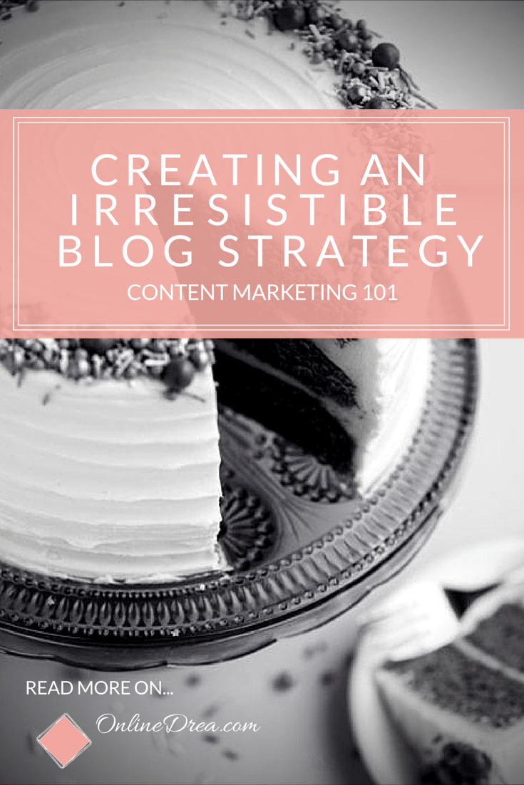 Content Marketing 101 tips for small businesses and creative entrepreneurs looking to start a blog