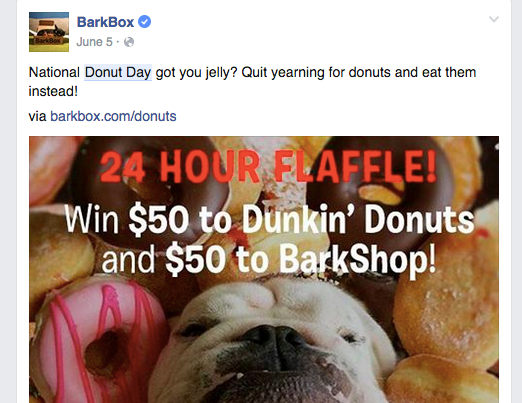 Content Marketing w: Bark Box