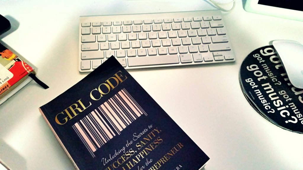 Girl Code Book on Desk