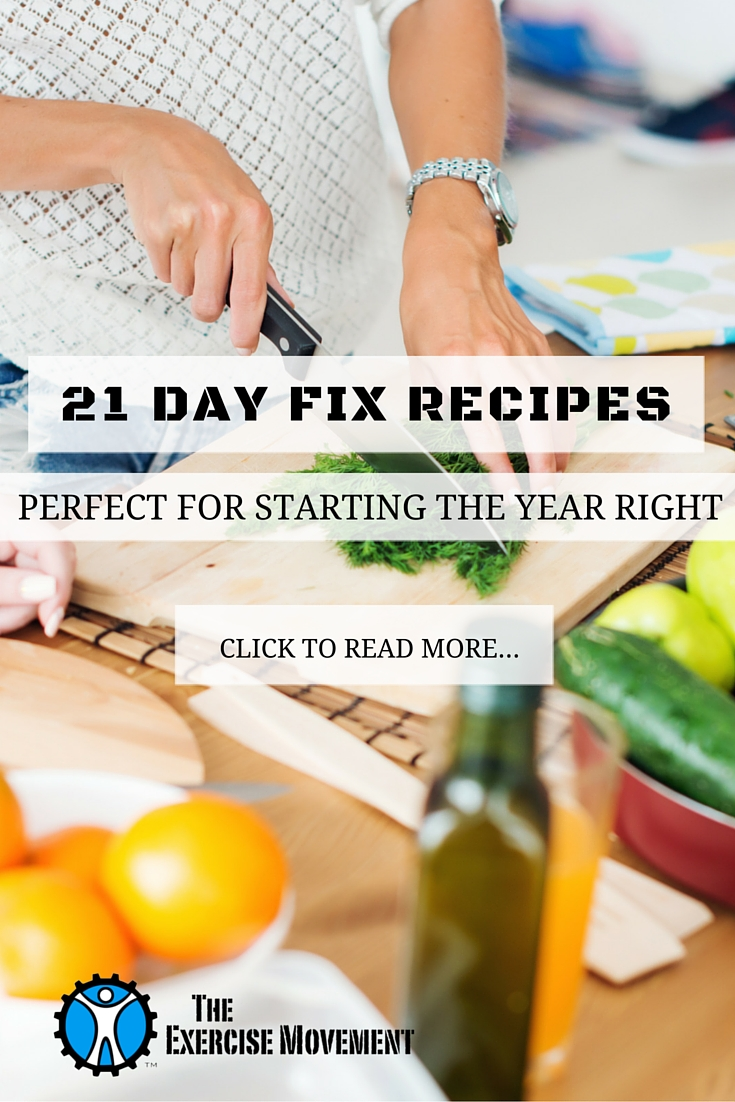 21 Day Fix Recipes Perfect For Starting the Year Right