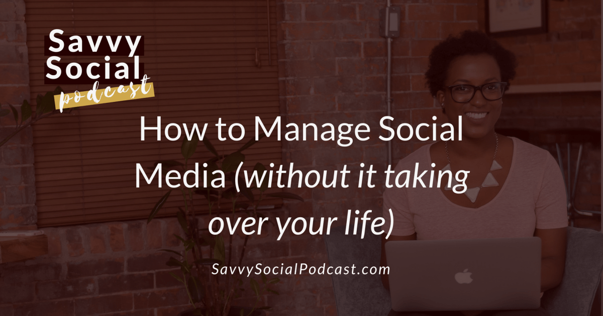 How to Manage Social Media - Main