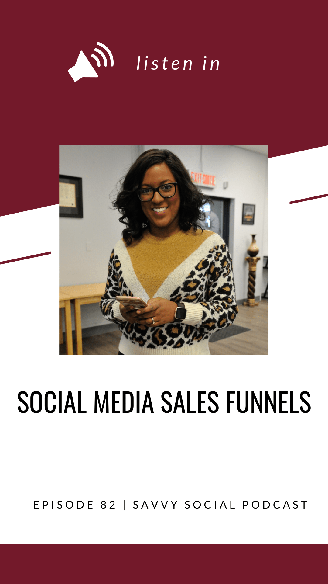 Have you established a sales funnel you can confidently say converts your fans into paying customers? A sales funnel is crucial to your social media strategy if you're ready to increase your reach and your revenue so if you're not sure where to start, this podcast episode is for you! Get tips on what to avoid when creating your sales funnel, how to prepare for a sales funnel & more!