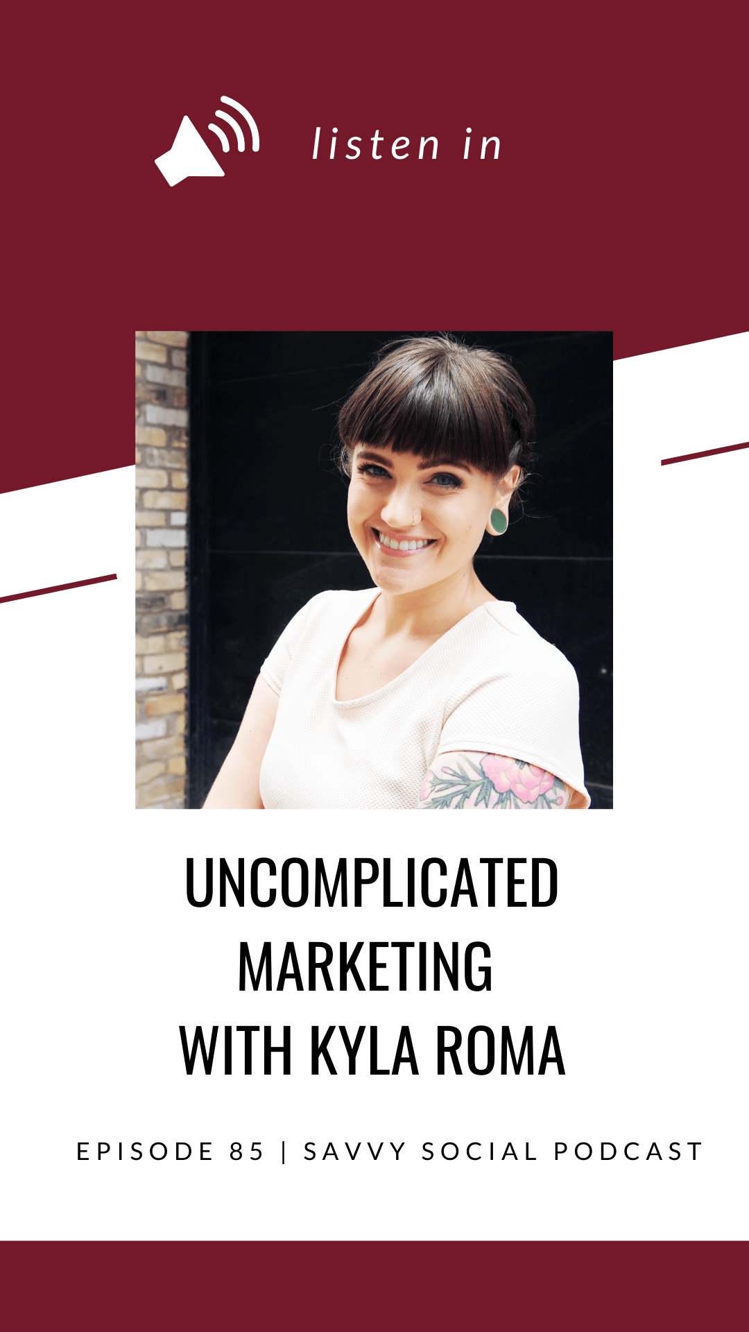 Ever feel like your marketing strategy just isn't getting the results you want? Learn how to prioritize marketing in a way that allows you to show up ready and excited to engage with clients instead of overwhelmed and over it.   Kyla Roma shares how to identify your marketing success metrics, where to start when building your marketing plan, how to share stories as part of your marketing messaging and so much more!