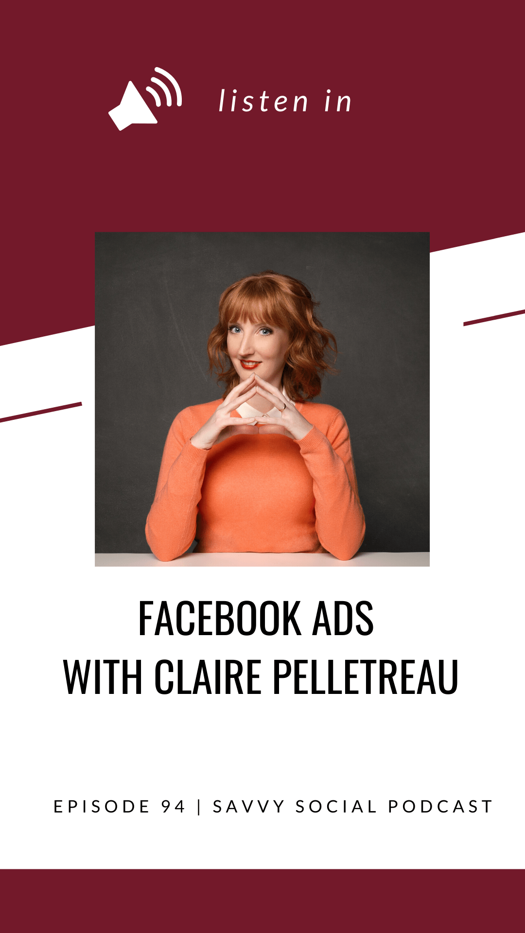 Facebook Ads with Claire Pelletreau