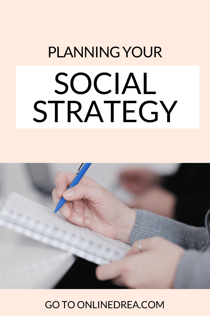 Planning Your Social Strategy
