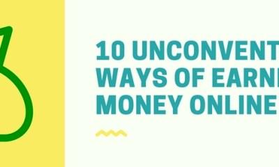 10 unconventional ways of make money online