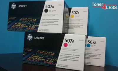 HP 507A Original Toner Cartridge