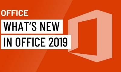 microsoft office 2019 features