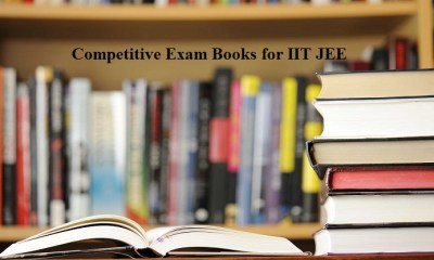 Competitive Exam Books for IIT JEE