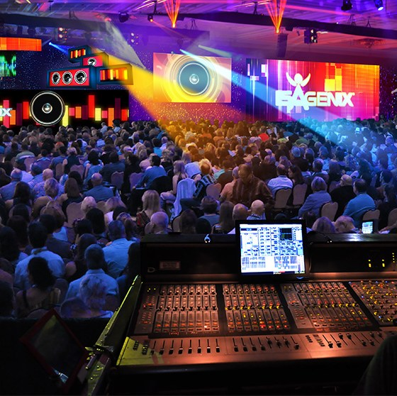 audio visual hire London