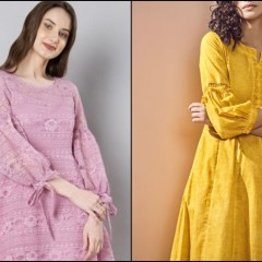 Trending Sleeve Designs and Patterns For Kurtis 4