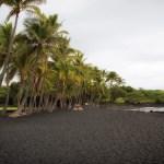 Black Beach on the Big Island