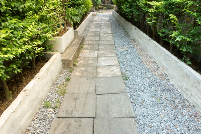 To boost the curb appeal, take good care of your walkway