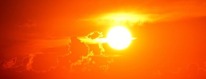 The scorching Sun.