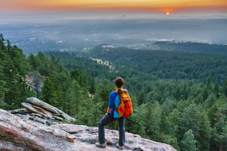 10 Outside Boulder Hike with Amazing views 1