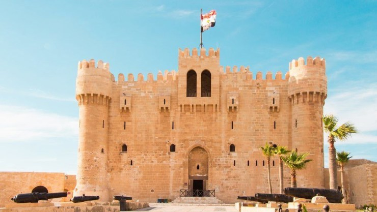 The Citadel of Qaitbay in Alexandria
