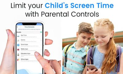 Limit your child's screen time with Parental Controls