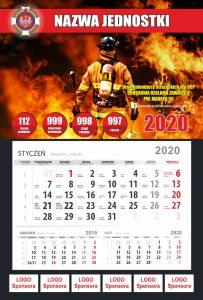 Kalendarz strażacki sponsorzy