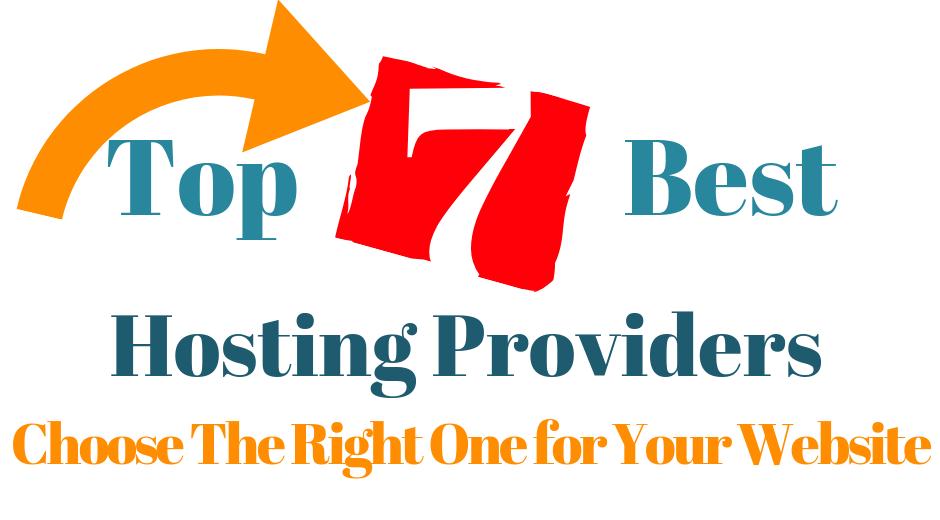 Top 7 best hosting providers