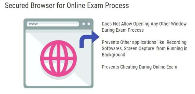 Secure browser For Online Exam Process