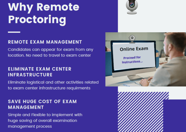 why remote proctoring during exams