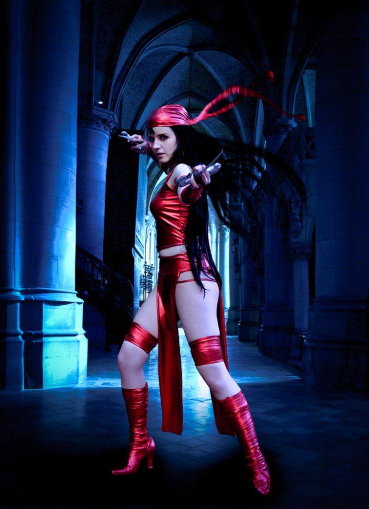 Top 20 Best Elektra Cosplay From Marvel Comics Online