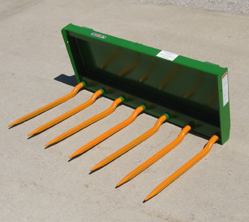 New Manure/Silage/Debris Forks For John Deere Series Loaders