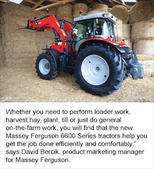 Massey Ferguson® Introduces 6600 Series Mid-Range Tractors