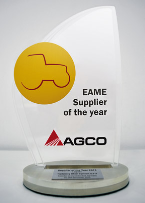 Double Awards for Trelleborg from AGCO