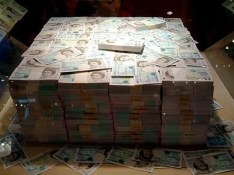Image result for millions of pounds in cash