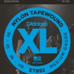 71Md5ty1MaL - D'Addario ETB92 Tapewound Bass Guitar Strings, Medium, 50-105, Long Scale