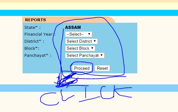 Assam MGNREGA Job Card