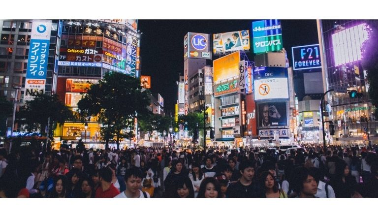 Japan population in hindi
