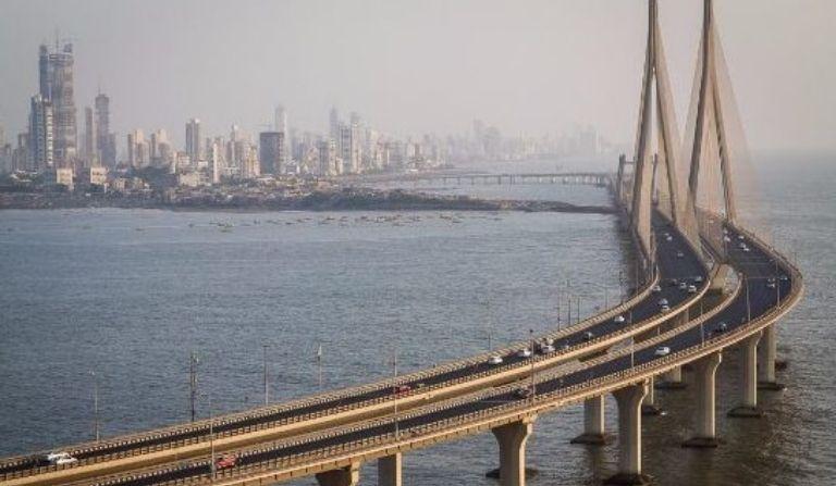 Mumbai sea link in hindi