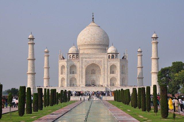 Taj mahal in hindi