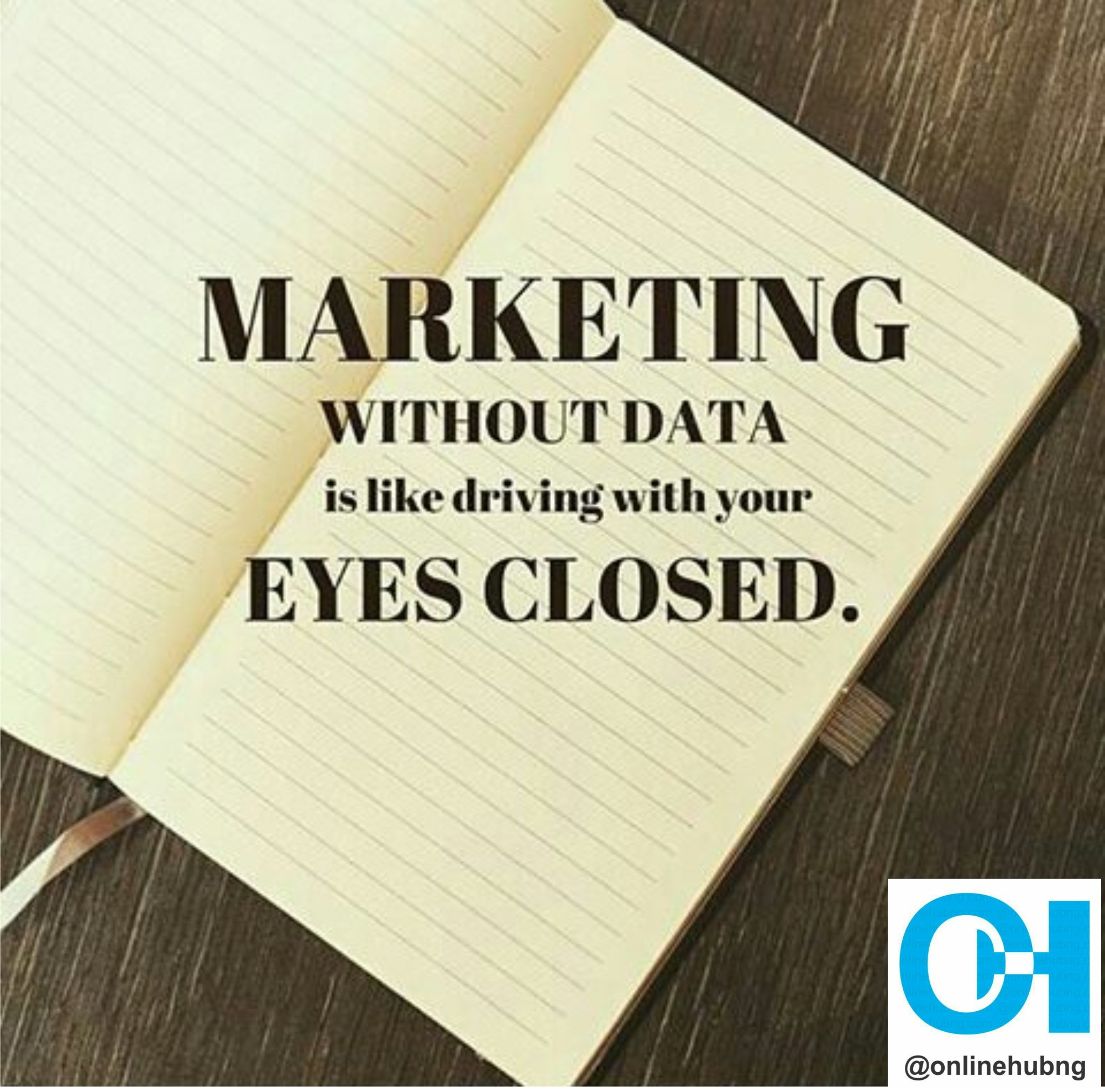 Marketing Without Data is Like Driving With a Closed Eyes