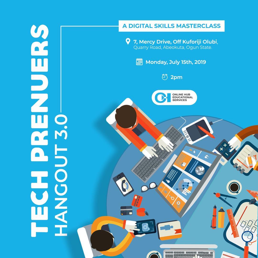 TechPreneurs Hangout 3.0: A Digital Skills Masterclass