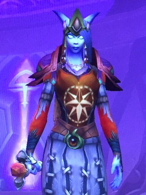 Lorraine plays World of Warcraft