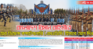 Bangladesh Air Force Job Circular 2018 www.baf.mil.bd