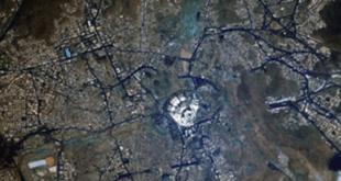 মহাকাশ থেকে তোলা কাবা শরিফের ছবি ভাইরাল