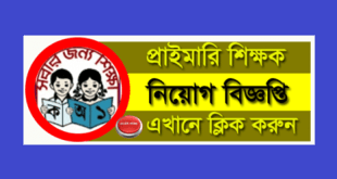 Primary School Teacher Jobs Circular 2020