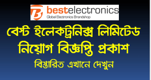 Best Electronics Limited Job circular 2020