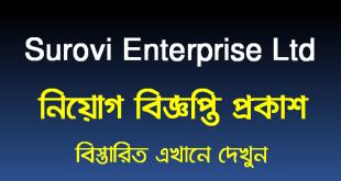 Surovi Enterprise Ltd job circular 2020