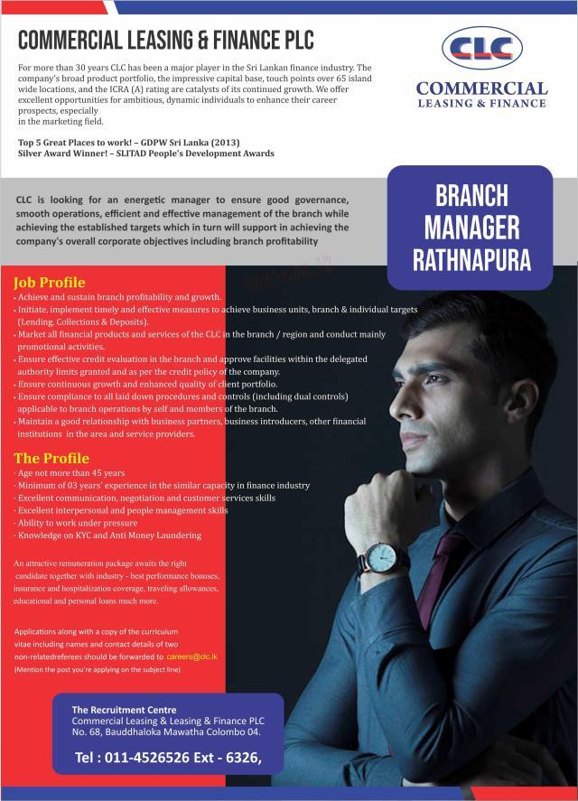 Private Banking Job Vacancies 2019